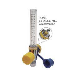 FLUXÔMETRO  0 A 15 L/MIN PARA AR COMPRIMIDO