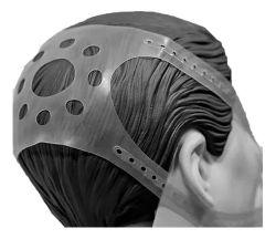 Conjunto (Máscara e presilha) para VNI